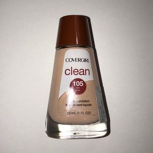 COVERGIRL CLEAN 105 IVORY Liquid Foundation New
